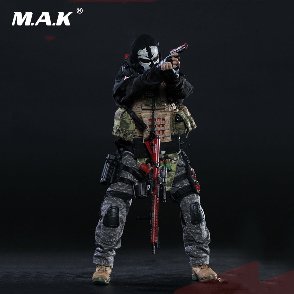 Collectible Full Set Solider Action Figure 73010 1/6 Doomsday War Series End War Death Squad K Caesar for Fans Holiday Gift