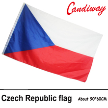 90 x 150cm  The Czech flag polyester in the Czech republic flag outdoor indoor activities to celebrate big flags    NN084