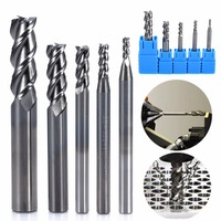 5pcs Solid Carbide CNC End Mill Set 3 Flute HRC50 Aluminum Milling Cutter 2 3 4