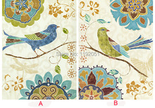 European style decoration pastoral style frameless painting flowers and birds canvas painting Markor style занавеска markor