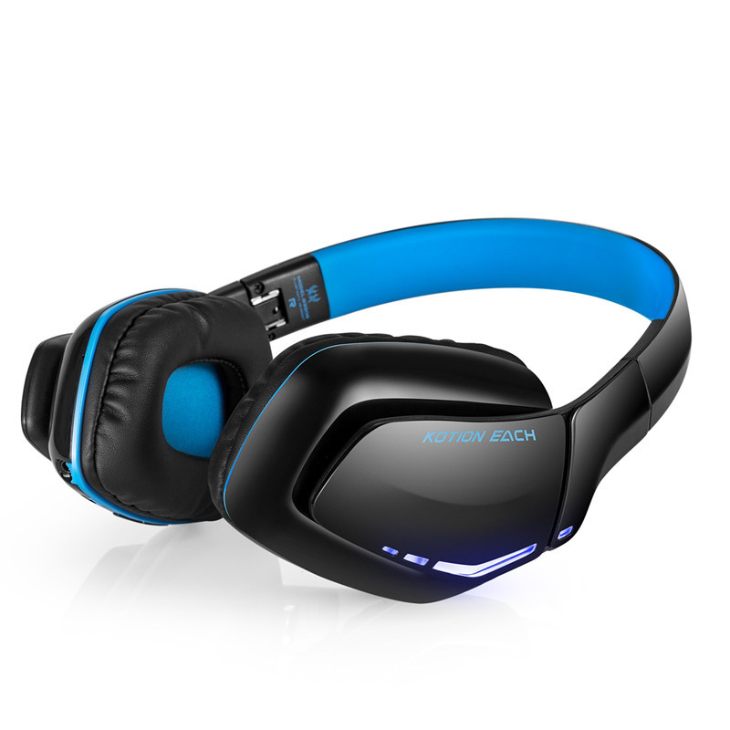 Original Bluedio Bluetooth Headphones Wireless Headset Gaming with Microphone V4.1 Deep Bass Wired Earphone for Computers