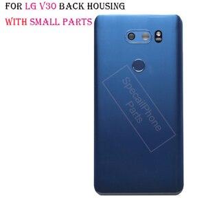 Image 5 - Back Cover for LG v30+/v30 Rear Housing Door Battery Cover for VS996 LS998U H933 LS998U H930 back housing with camera lens glass
