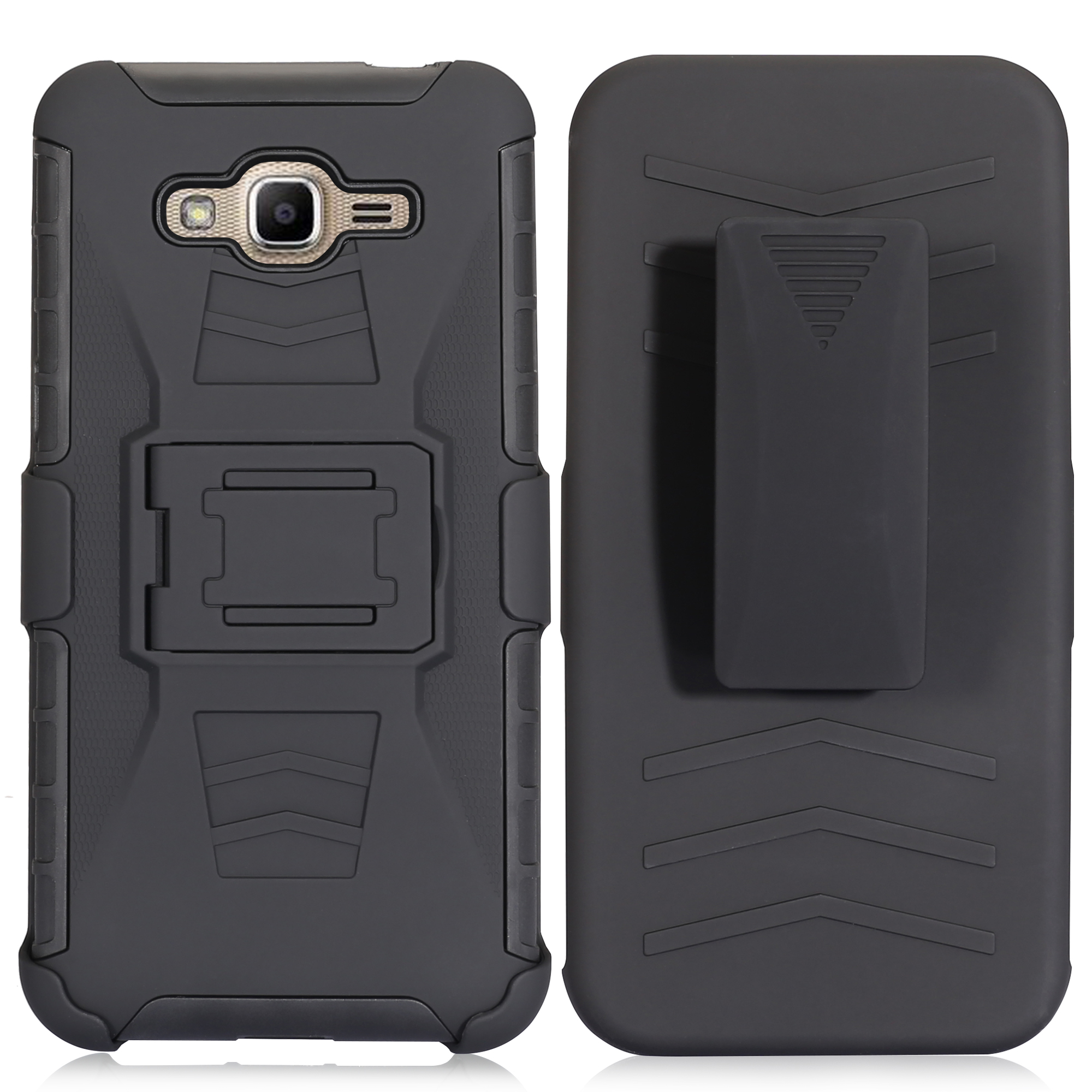 Coque antichoc militaire pour Samsung Galaxy J5 étui J5 J500 J500F 5 pouces étui pour Samsung J5 antichoc hybride Clip ceinture
