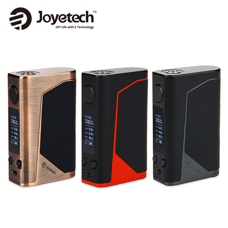 Original 200W Joyetech EVic Primo Mod E-cigs Fit UNIMAX 25 Atomizer From Joyetech EVic Primo Vape Kit Evic Primo TC Box Mod 200W modern led colorful glass pendant lights lamps creative design toolery dining room living room bar g9 led bulb art decoration