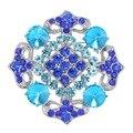 Мода красивый кристалл Броши посеребренная свадебные украшения Горный Хрусталь броши для женщин ювелирные украшения партии
