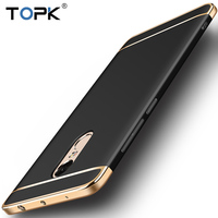 Xiaomi Redmi Note 4 Case TOPK Electroplating Series Metallic Feel Anti Knock Dirt Resistant Phone Case