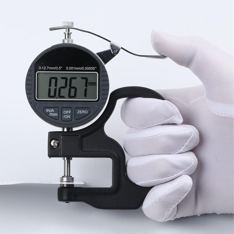 Medidor de espesor de 0.001 mm Digital Medidor de espesor de 10 mm - Instrumentos de medición - foto 5
