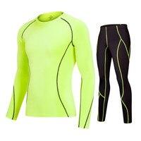 2017 Men Long Sleeve Compression Skin Pant T Shirts Fitness Pant GYM Running Pants Soccer Basketball
