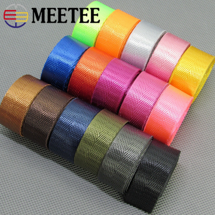 10Meters Herringbone 20mm Nylon Webbing Ribbons Dog Collar
