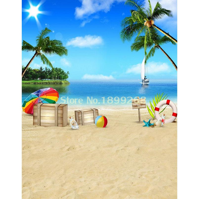 x cm d sol mar beach viajar vinilo fotografa teln de fondo para estudio fotogrfico