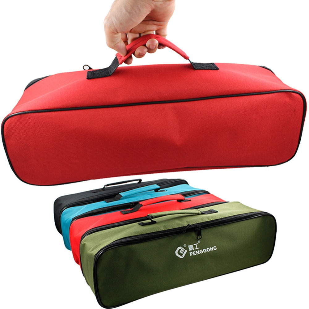 Multifunction Tool Bags Practical Carrying Handles Oxford Canvas Chisel Roll Bags For Tool 3 Colors New Instrument Case Dropship
