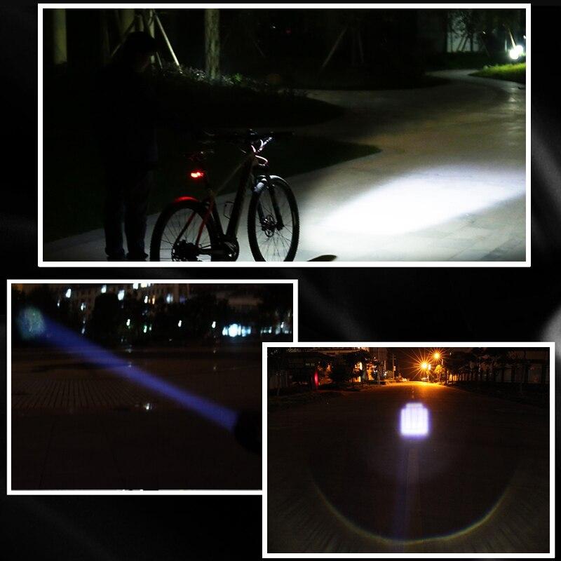 Yeni Velosiped İşıq 7 Vatt 2000 Lumens 3 Mode CREE Q5 LED - Velosiped sürün - Fotoqrafiya 5