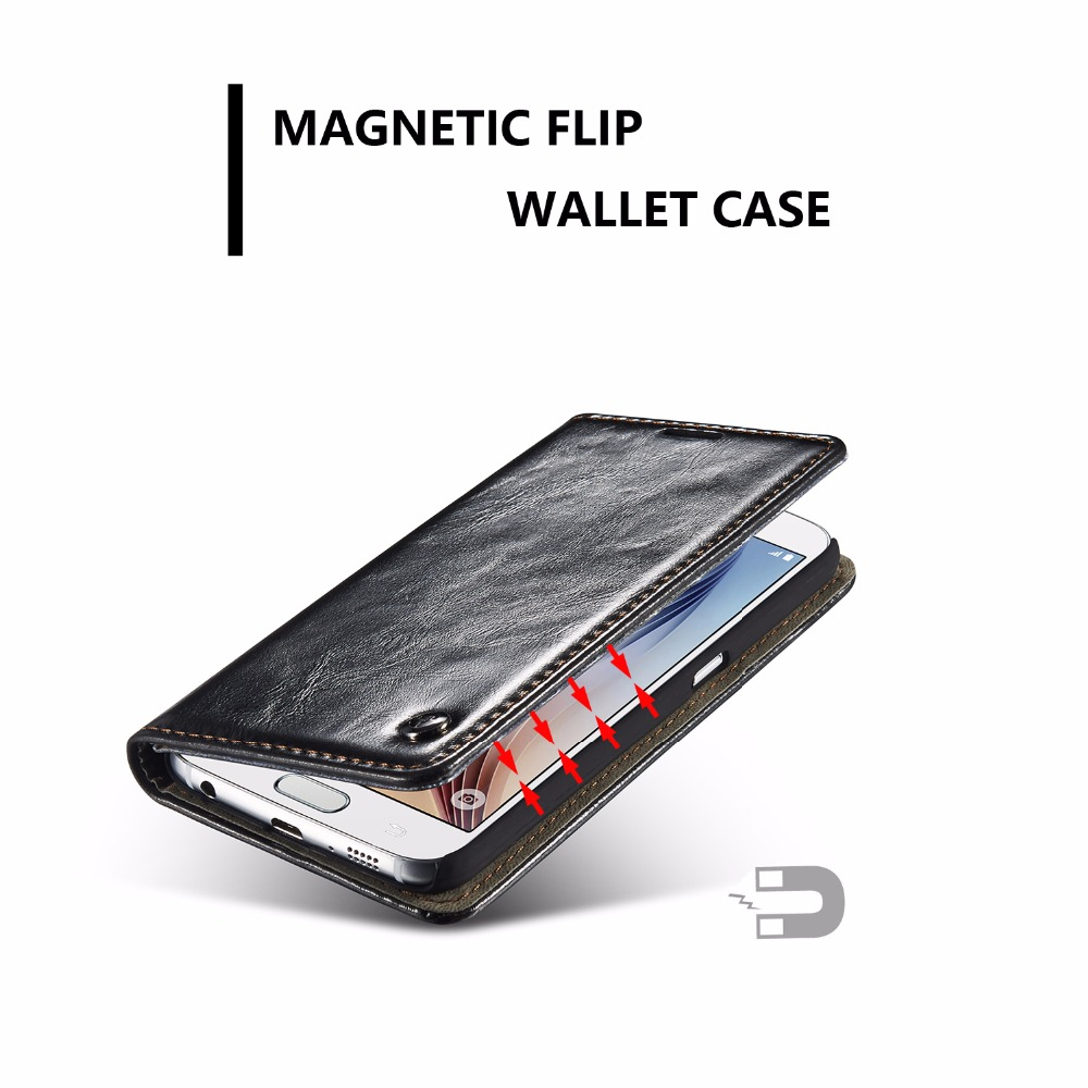 CaseMe A5 2016 Wallet Case For A3 2016 Card Slot Magnetic Auto A7 2016 Flip Case For Samsung A3 A5 A7 Leather Cover