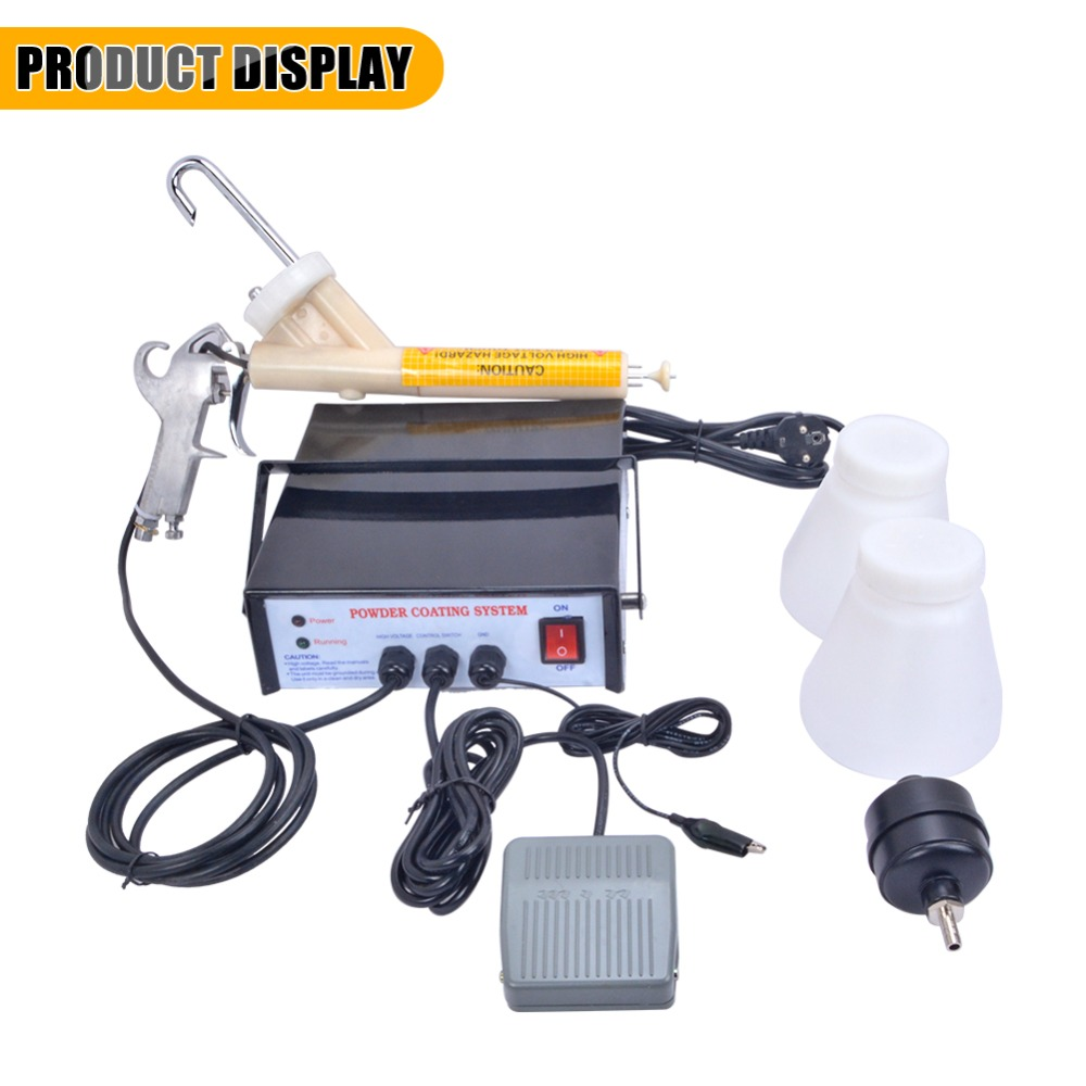 New Version Portable Powder Coating System Paint Gun PC03-5 110V/220V