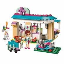 203pcs Friends series Pet Hospital Vet Clinic Building Blocks Educational toys Compatible with LegoINGly Friends