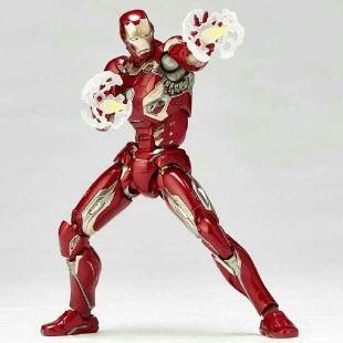 Figurine d'anime 17CM Ironman MK45 figurine à collectionner jouets pour garçons