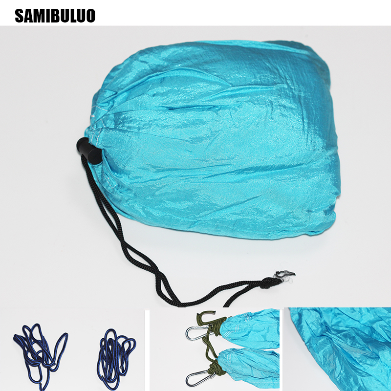 Camping Hammock Lightweight Nylon Portable Double Hammock for Backpacking Camping Travel Beach Yard in Hammocks from Furniture