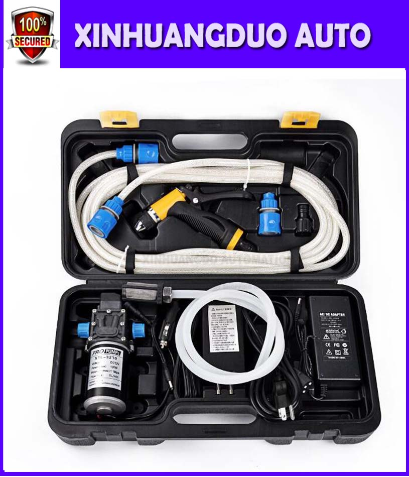 Best Price 100w Portable 12v Car Washer High Pressure With
