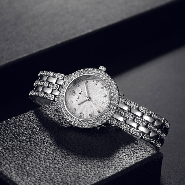 B-8111 BAOSALI Fashion Ladies Alloy Bracelet Watch Diamond Brand Watches Relojes