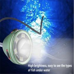 15 M kabel lokalizator ryb LED Aparat podwodny wędkarstwo noc