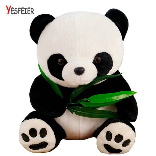 20-50 cm adorável Panda brinquedos de pelúcia crianças boneca de Pelúcia de alta qualidade do transporte Da Gota