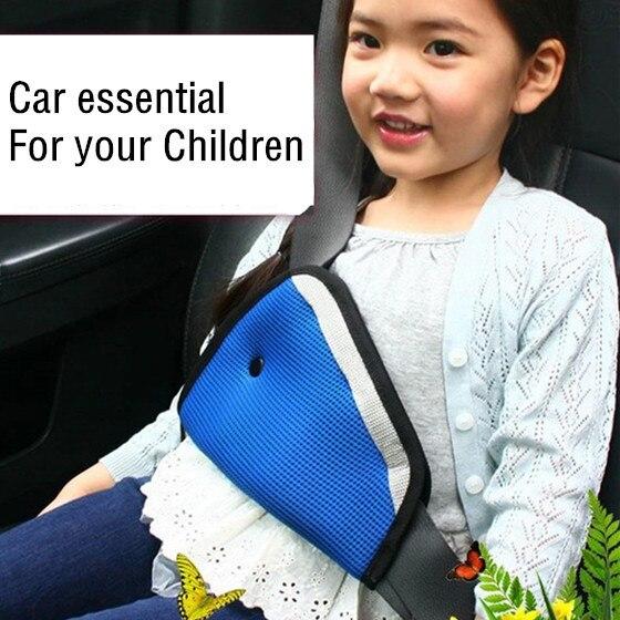 Hot Sale Safe Fit Thickening Car Safety Belt Adjust Device Baby Child Safety Belt Protector Seat Belt Positioner Padding