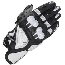 Leather racing glove, motorcycle glove, cross-country riding gloves