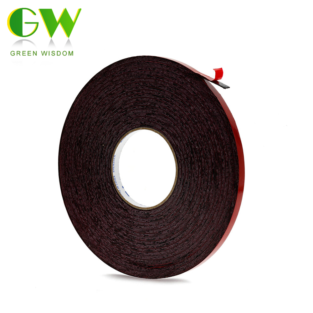 50M/Roll 10mm Width Double Sided Adhesive Tape For SMD 3528 5050 Ws2811 LED Strips Strong Double-sided Tape For LED Strip Light