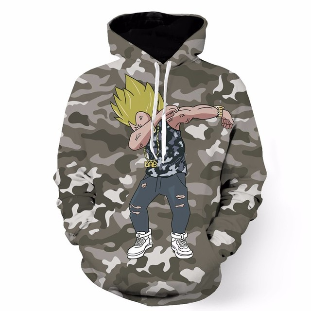 Dragon Ball Goku Naruto Print Hoodies Pullovers