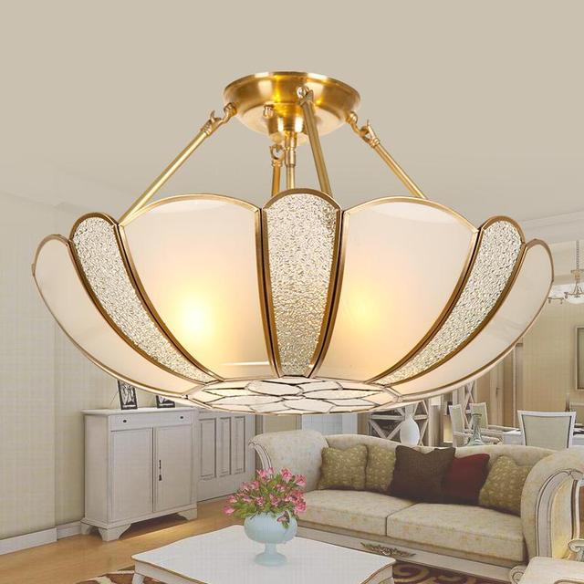 Dining Room Tiffany led Pendant Lights Copper Vintage Lamp E27 Hanging Lamp Lamparas Colgantes Restaurant bedroom Pendant Lamps