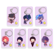 Black Butler Keychain 7 Styles Sebastian Michaelis Ciel Phantomhive Pendant Hot Sale Custom made Anime Key Ring PSS242-248