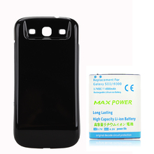 4500mAh Extended Replacement Battery for Samsung Galaxy S3 i9300 + Back Cover Case For Samsung Galaxy S III S3 i9300
