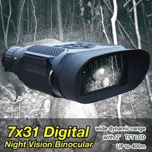 Big sale 3.5-7x31mm Digital Night Vision Binocular Infrared Illuminator 1300ft /400M Viewing Range 12 Language For Hunting gs27-0023