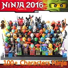 2016 New Ninja Minifigures Blocks KAI JAY COLE Phantom Skylark Building Blocks Set Model Children Toys Xmas Gifts
