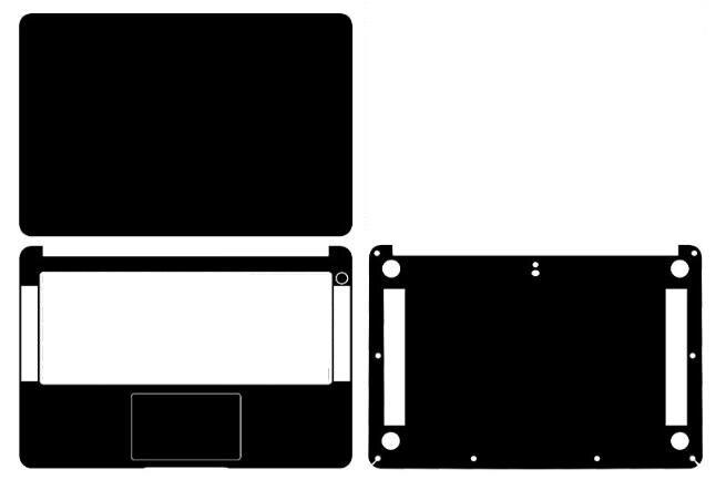 Laptop Carbon Fiber Vinyl Skin Sticker Cover For New Huawei Matebook D 14