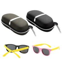 New lentes de contacto color 2 Colors Sunglasses Reading Glasses Carry Bag Hard Zipper Box Travel Pack Pouch Case