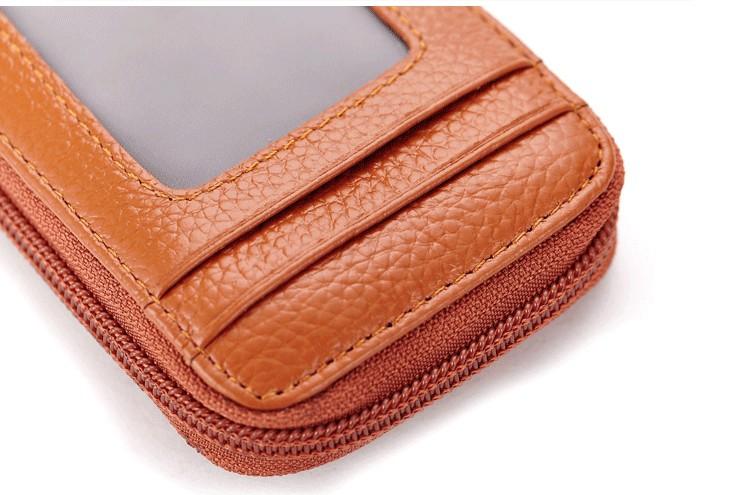Topdudes.com - Genuine Leather Credit Card Organizer