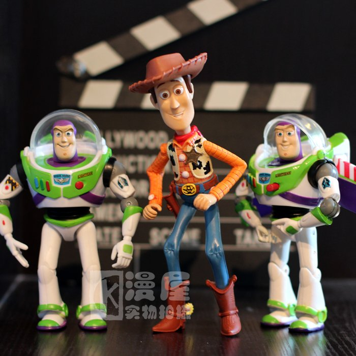 NEW hot 14cm Toy Story Woody Buzz Lightyear collectors action figure toys Christmas gift doll hot new 1pcs 18cm toy story 3 woody action figures pvc action figure model toys christmas gift toy