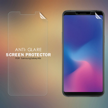 For Samsung Galaxy A6S Anti-glare Screen Protector Matte Anti-fingerprint Protective Film For Samsung A6S Soft PC Matte Film enkay anti glare screen protector matte protective film guard for blackberry z10