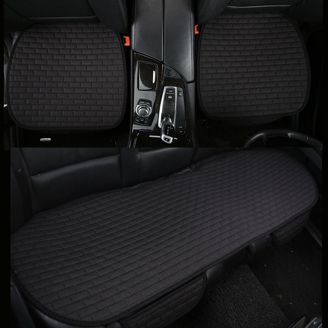 Dewtreetali льна сиденья универсальный дышащая сиденье защитник автокресло Подушки Pad Автомобиль-Стайлинг для Peugeot 307 Ford Focus 2