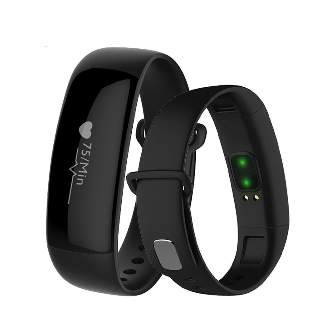 TGETH M88 Band Heart Rate Blood Pressure Monitor Watch Activity Tracker Waterproof Alarm Clock Smart Bracelet