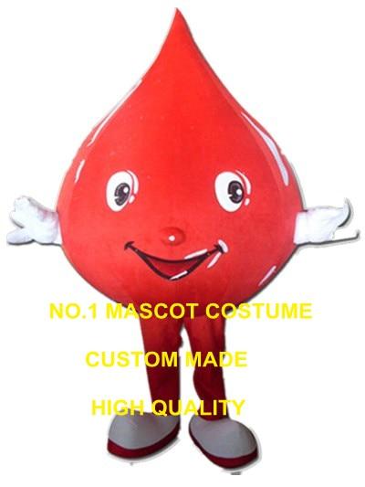 Blue Water drop mascot costumes Fancy dress Cartoon Costumes Adult size