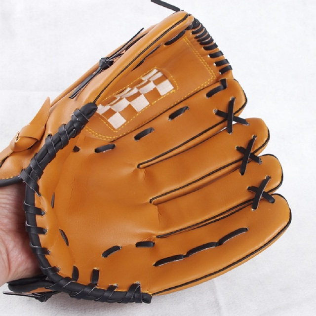Right hand Male Baseball Glove Female Professional Glove Left Hand Outdoor Sports Racing Gloves Child10.5/Teenage11.5/Adult12.5 5