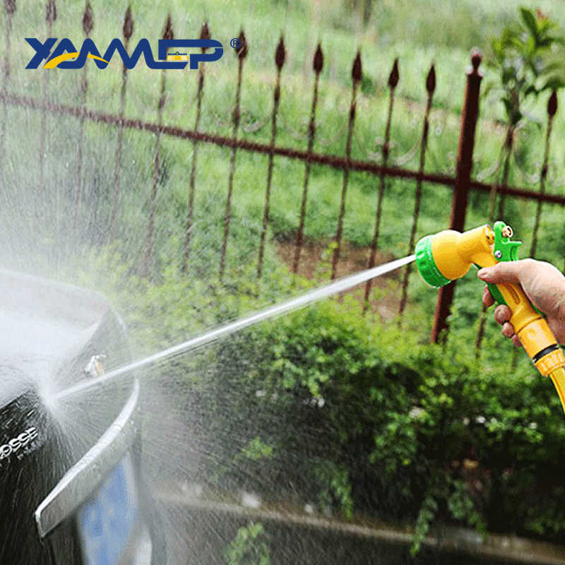 רכב לשטוף אקדח מים בלחץ גבוה מים זרימת ניקוי צמיג השקיה לחץ מכונת כביסה מקלחת מים טור מתכוונן Splash Xammep