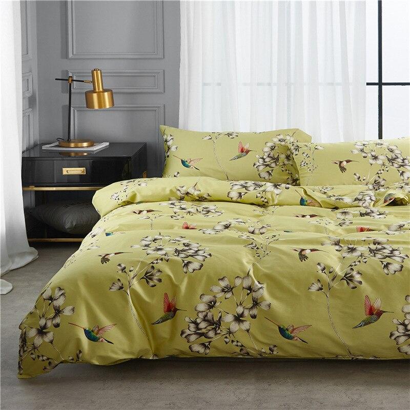 ツ)_/¯Medusa 60 s satén de algodón egipcio pájaros Ropa de cama ...