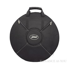Free shipping Hang Drum bag protection HandPan case cover black color diameter 60cm thicken shoulder straps bags
