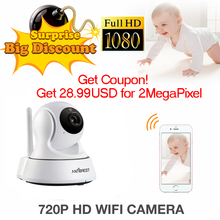 ANTCREST Mini 960P 1080P Wireless Wifi Night Vision Onvif IR Night Vision Sucurity IP Camera Wi
