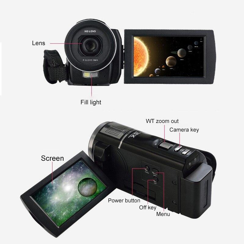 16x Zoom 24MP digitalni fotoaparat Video kamkorder 3.0 inčni LCD - Kamera i foto - Foto 4