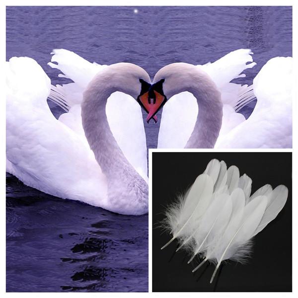 venta caliente nuevo unidslote blanco natural de plumas de ganso