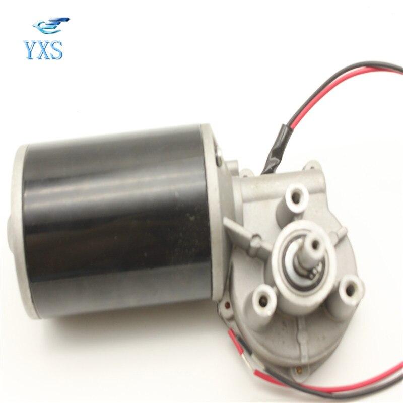 цена на DHL Free 76ZYJ-G DC 24V 120W 40RPM 76mm Large Torque DC Gear Motor 76 Turbine Worm Gear Motor